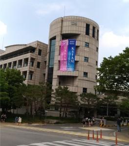 会場の建物