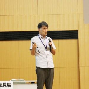 松本氏による総合講演の様子